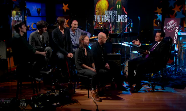 Radiohead on The Colbert Report