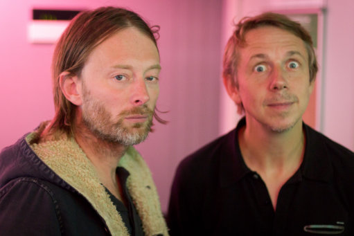 Thom Yorke and Gilles Peterson