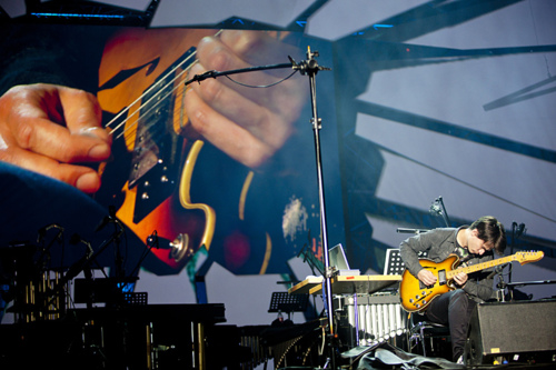 Jonny Greenwood at the Sacrum Profanum Festival in Poland. September 11, 2011